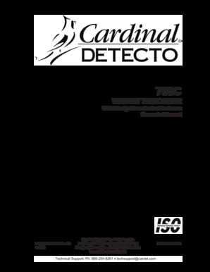 cardinal 758 manual