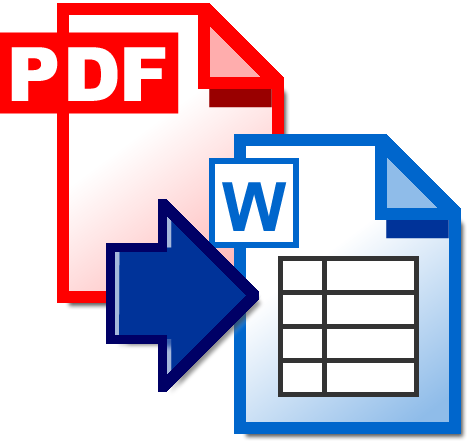covert pdf to ms word