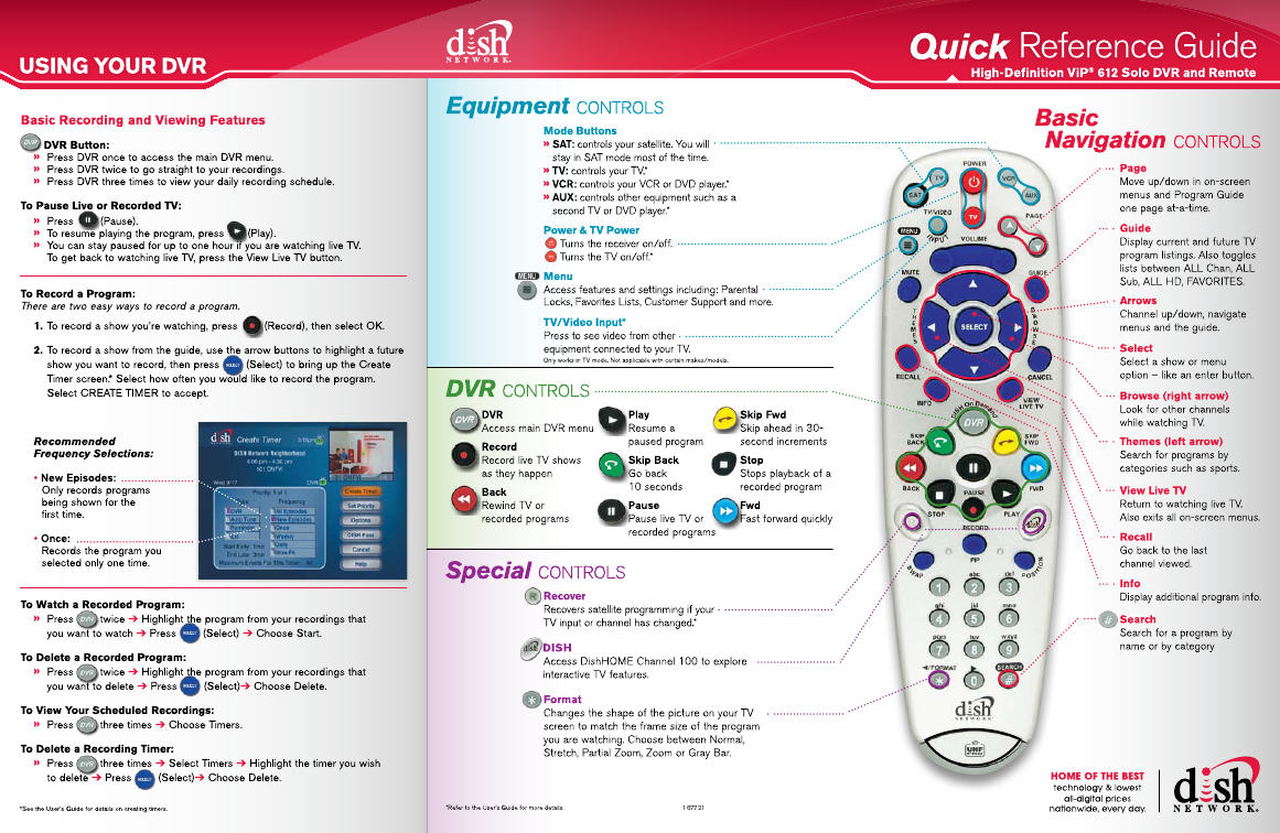 dish tv s8200 manual