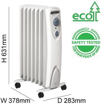 dimplex oil filled radiator manual