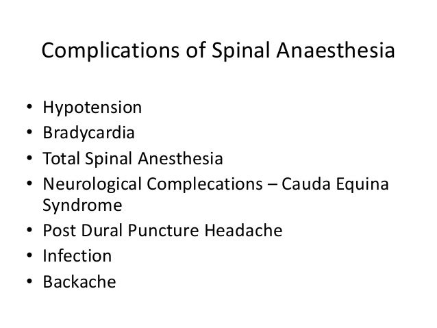 complications of anesthesia pdf