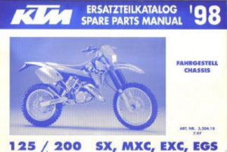 1998 ktm 200 exc service manual