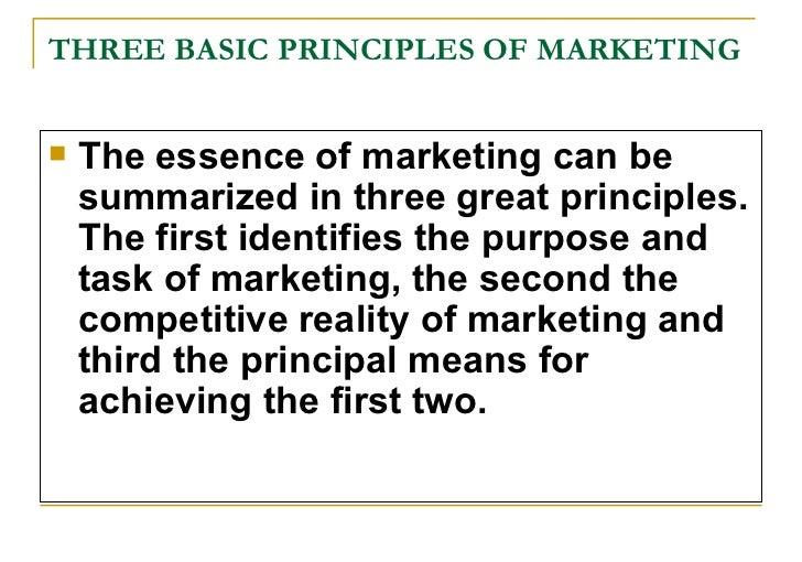 basic marketing concepts pdf