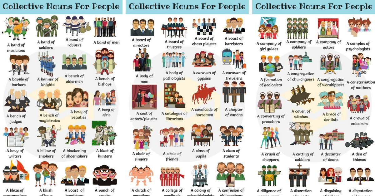 1000 examples of collective nouns pdf
