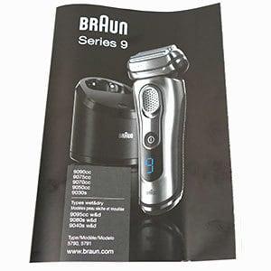 braun series 9 manual