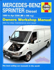 2011 mercedes sprinter service manual