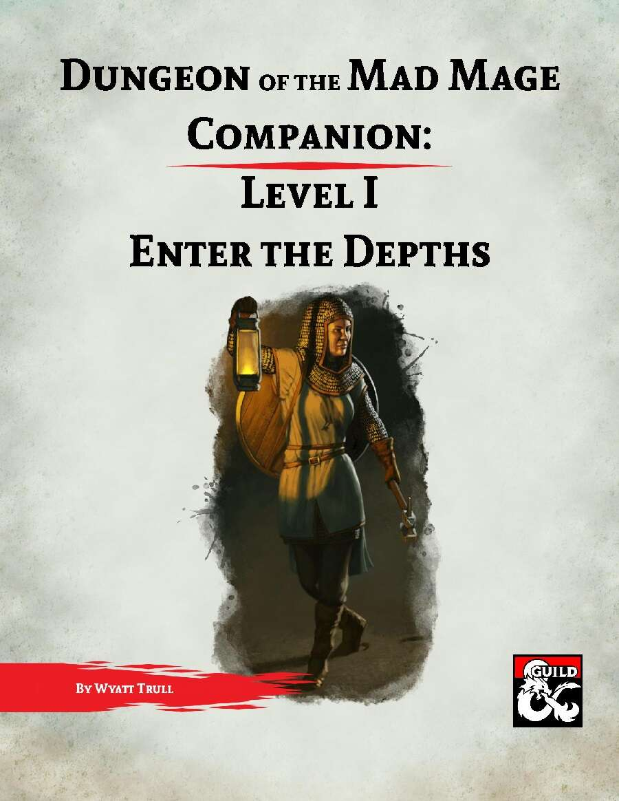 dungeon of the mad mage pdf
