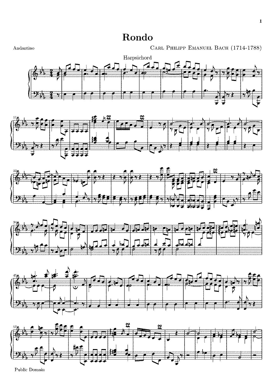 cpe bach h 135 pdf
