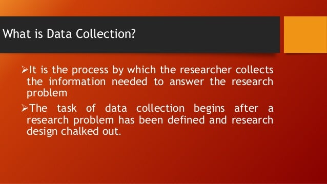 data collection in research methodology pdf