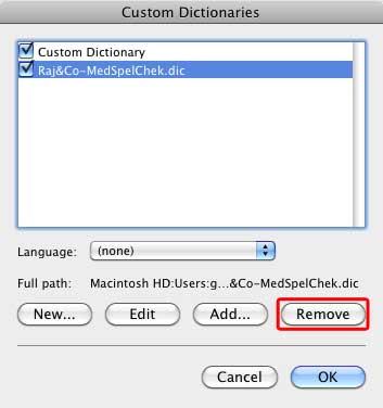dictionary loading