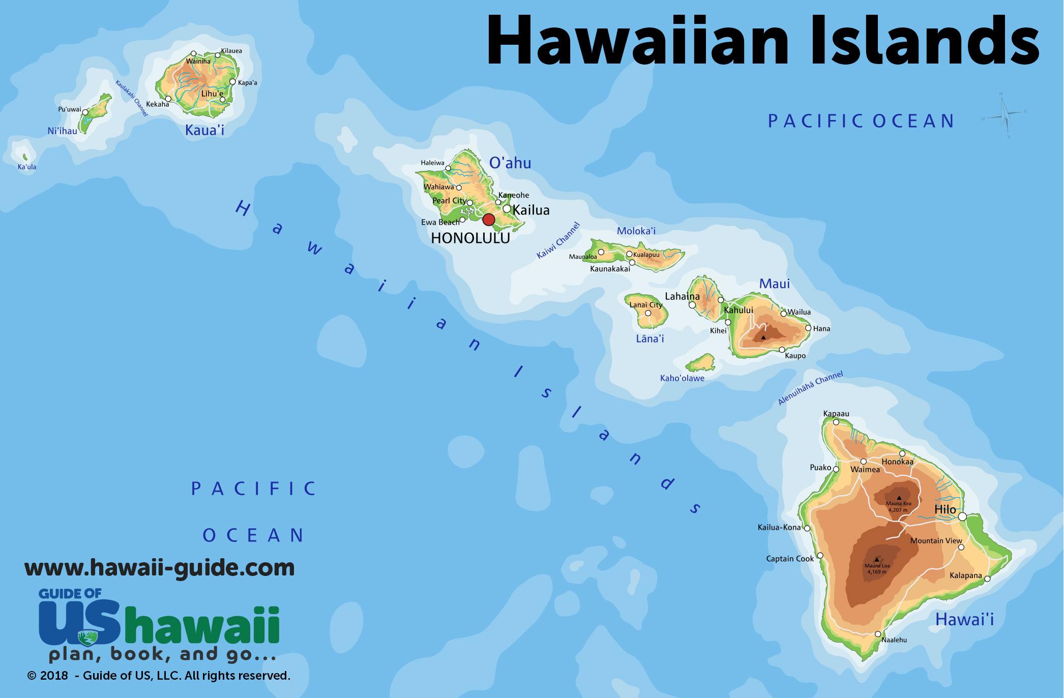 big island hawaii map pdf