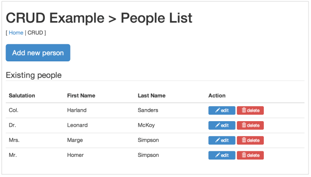 angularjs sample project example