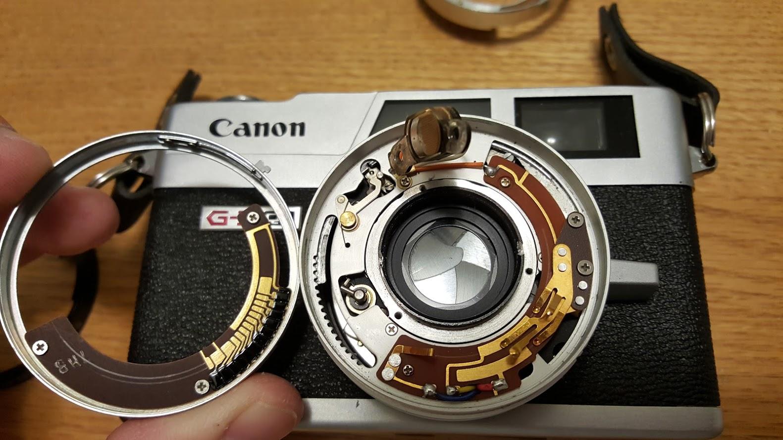 canonet ql19 repair manual
