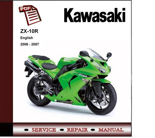 2006 kawasaki zx10r service manual