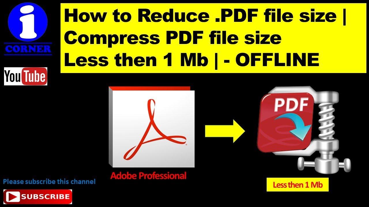 compress pdf to 1mb