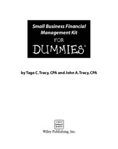 business valuation for dummies pdf download