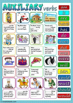 auxiliary verbs exercises pdf with answers