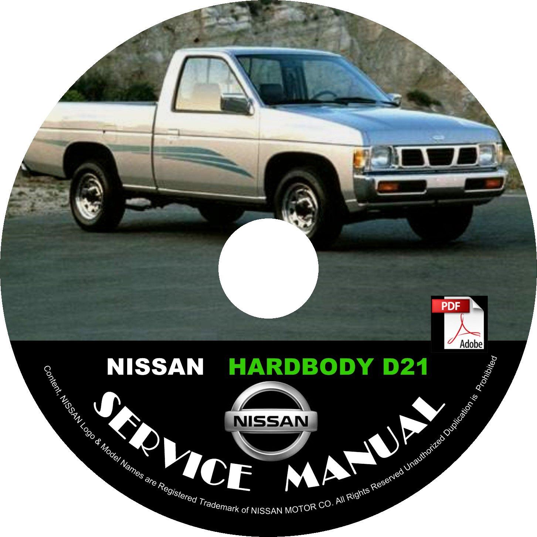 1986 nissan pickup service manual