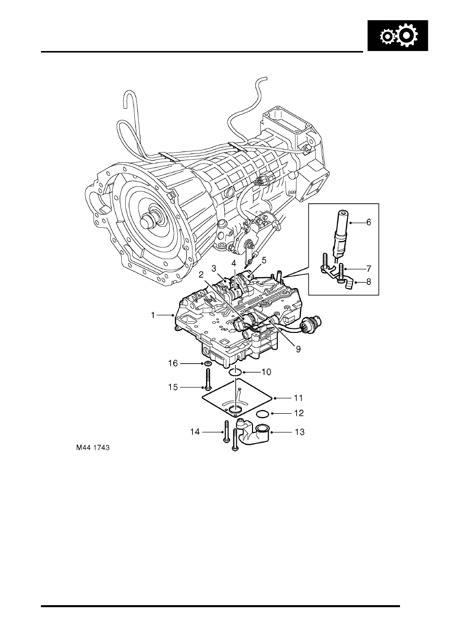 1991 land rover discovery manual gearbox parts