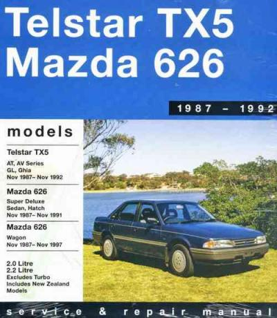 1992 ford telstar auto or manual