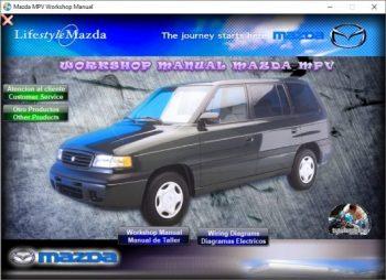 1999 mazda mpv manual