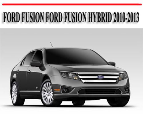 2010 ford fusion owners manual pdf