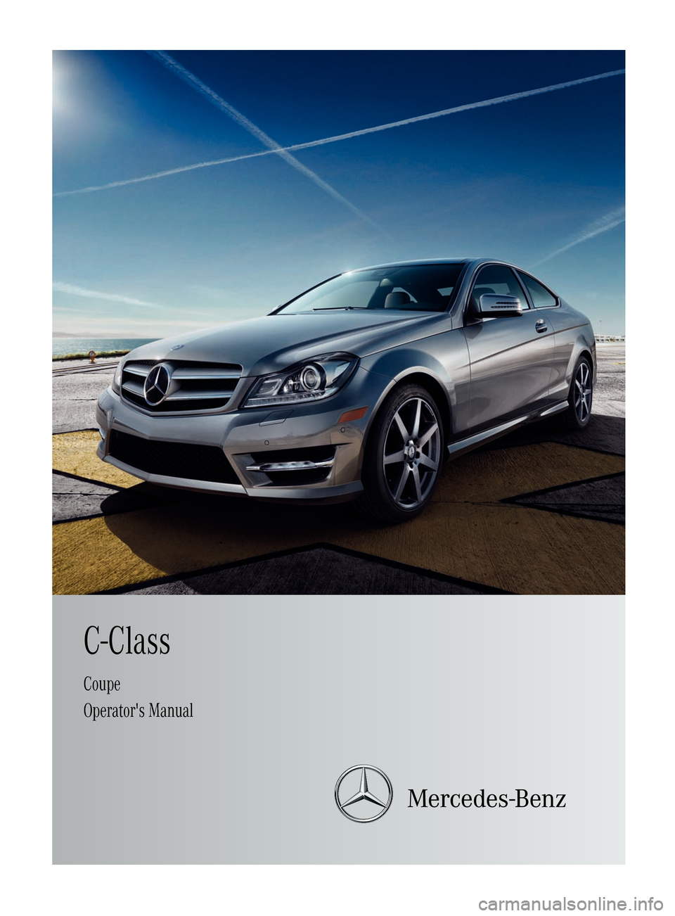 2012 mercedes benz c250 coupe owners manual