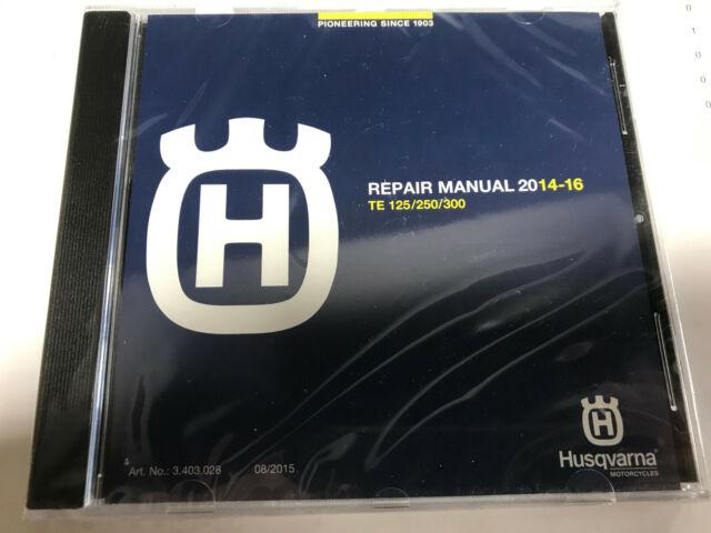 2016 husqvarna te300 service manual