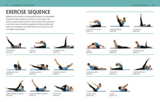 34 pilates mat exercises pdf