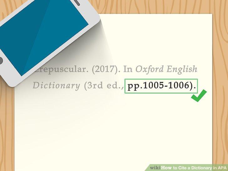 apa citation urban dictionary