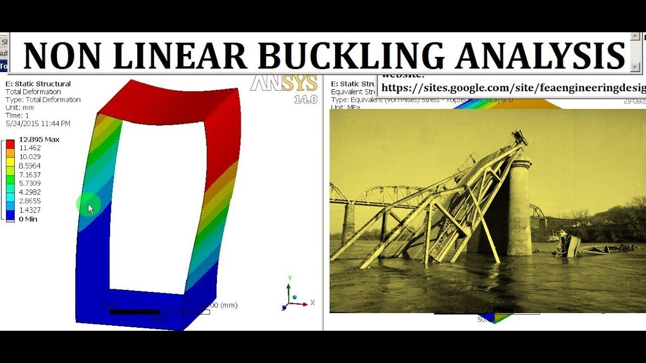 ansys buckling analysis tutorials pdf