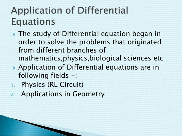 differential application