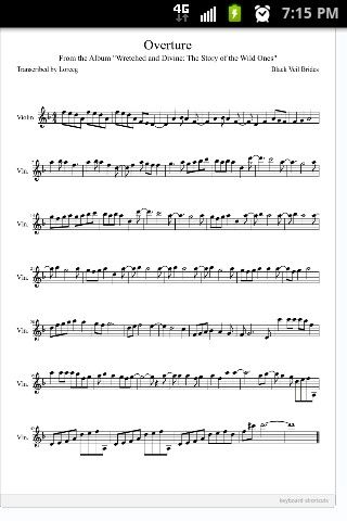 beauty and the beast overture pdf