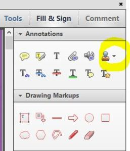 adobe pdf markup tools