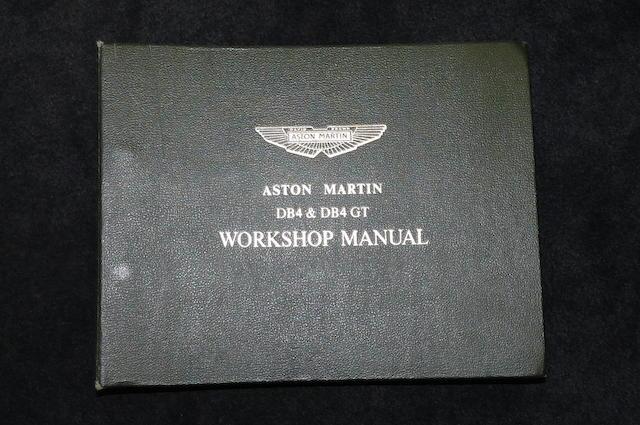 db4 vantage workshop manual download