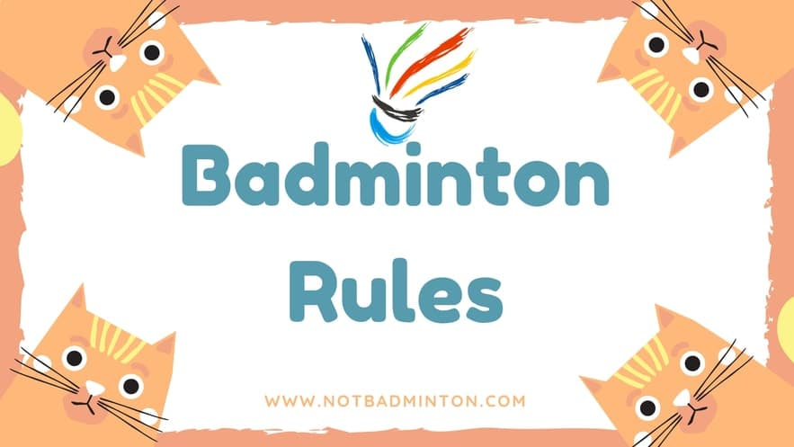 badminton rules and regulations pdf 2018