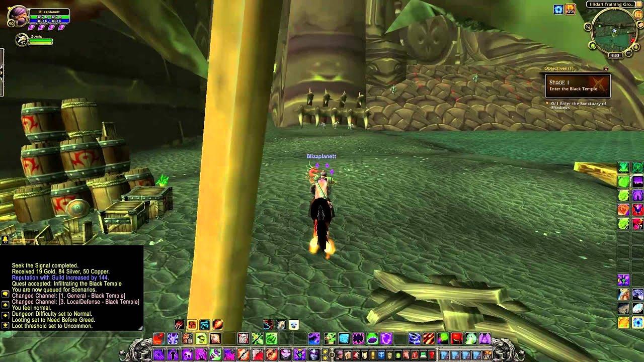 black temple timewalk guide