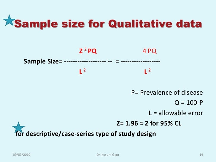 choosing a sample size for qualitative research