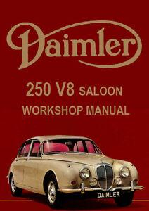 daimler 250 v8 service manual