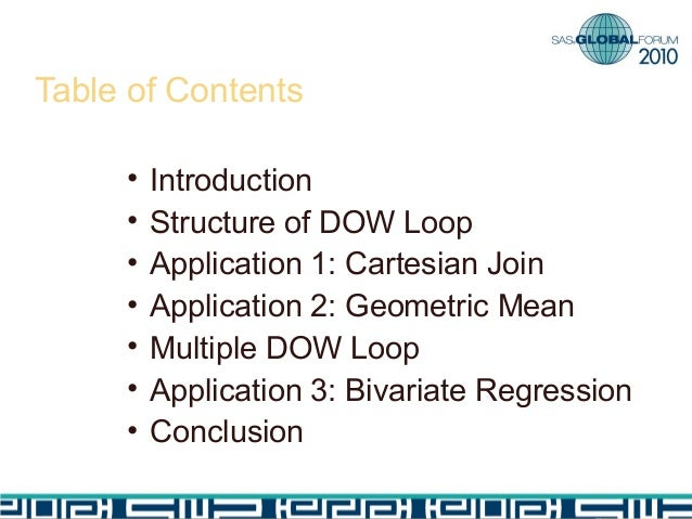 dow application