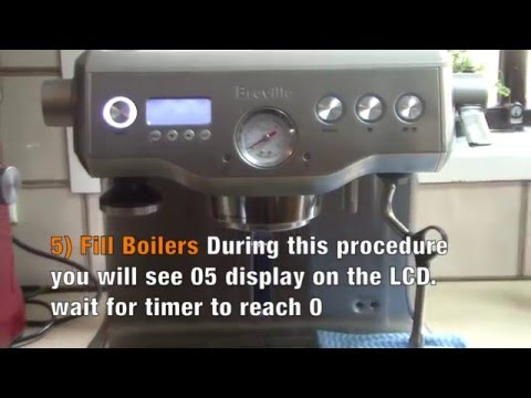 breville coffee maker descaling instructions