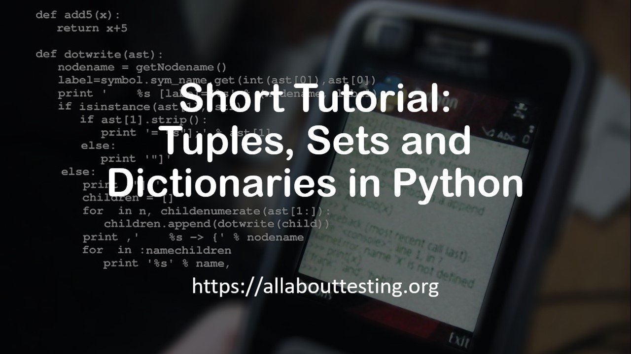 browse dictionary python