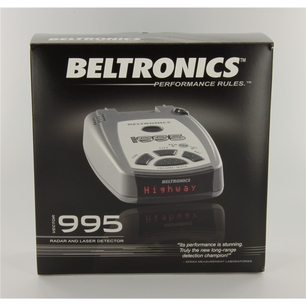 beltronics vector 995 manual