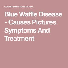 blueberry waffle disease urban dictionary