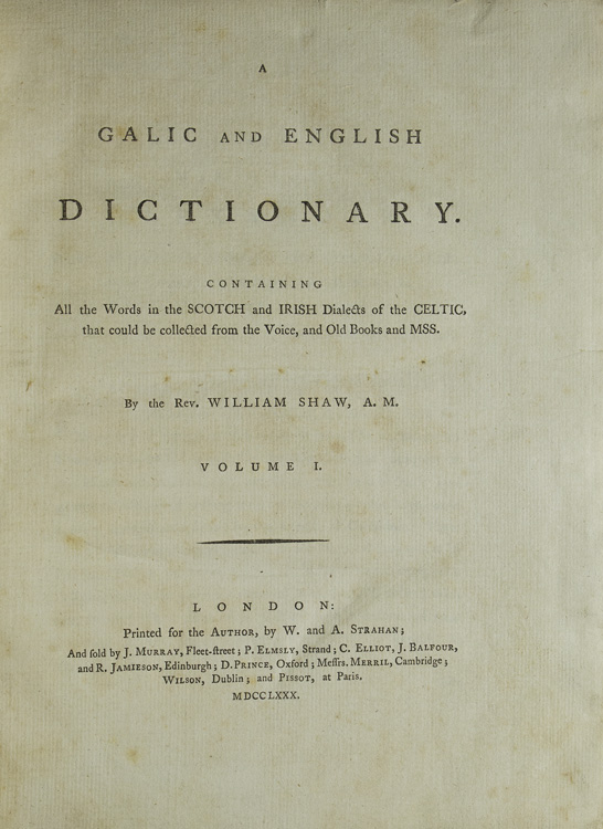 dictionary c contains