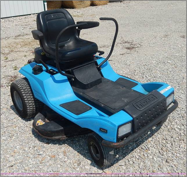 dixon ztr mower manual