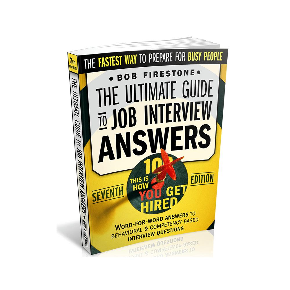 bob firestone job interview answers pdf