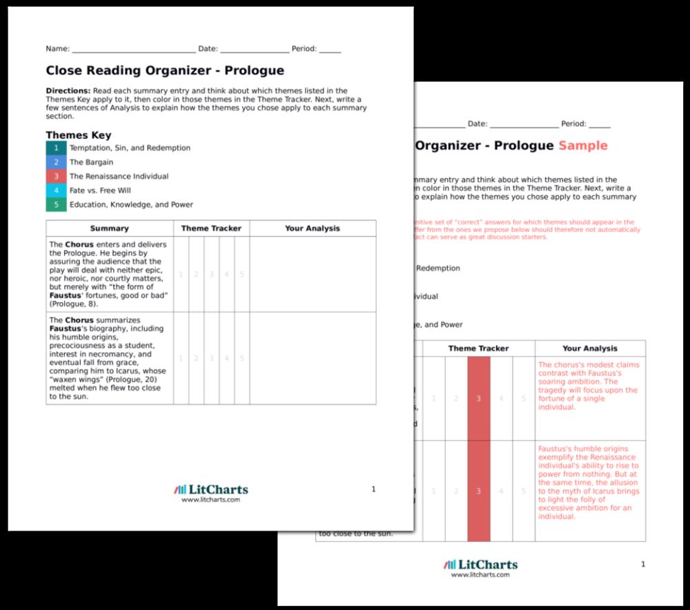 dr faustus summary pdf