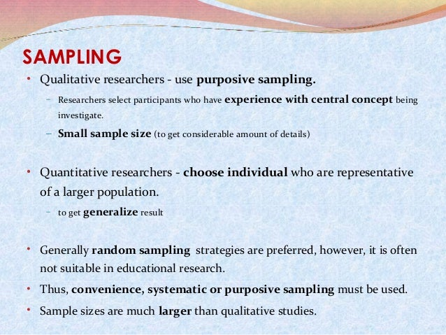 benefits of large sample size in qualitative research