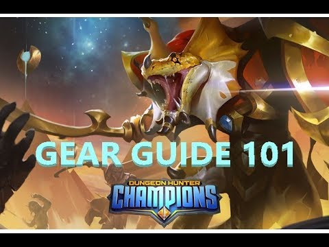 dungeon hunter champions gear guide